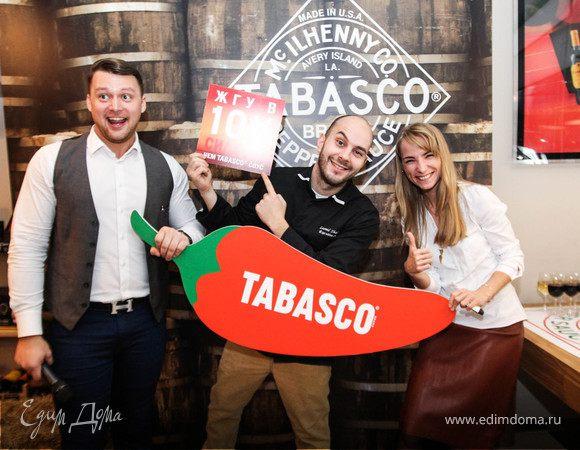 Первый кулинарный мастер-класс от шеф-повара TABASCO®