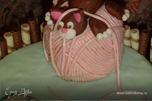 Вот такой торт получился у меня! Буду очень рада, если он Вам понравится. Приятного аппетита!!!!!!!!