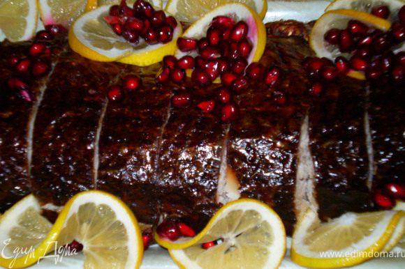Рыба лявянги,подается холодной или горячей в качестве основного блюдо или как гарнир к плову.