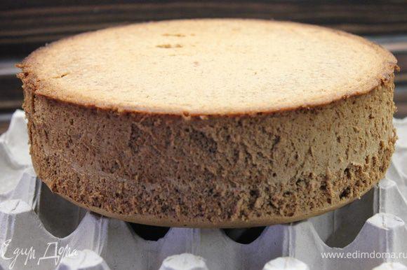 Выложить тесто в форму и выпекать в разогретой до 175 градусах духовке 50 минут (если используете форму 24-26 см, то выпекать при 180 градусах 30 минут)..проверить готовность зубочисткой!