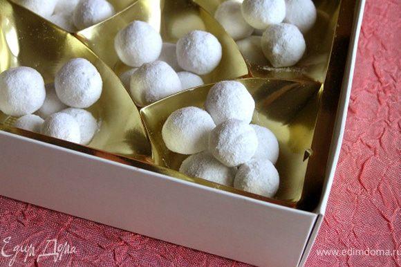 Вкусное и полезное лакомство готово! Осталось только упаковать в подарочные коробочки :))
