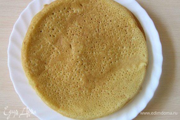 Каждый блинчик смазать размягченным сливочным маслом, присыпать сахаром. Подавать горячими с пылу с жару! Хотя и в холодном виде они хороши!