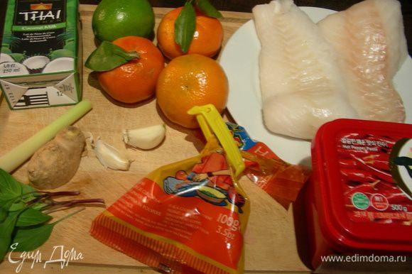 Наши продукты (у меня здесь отсутствует апельсиновый сок):