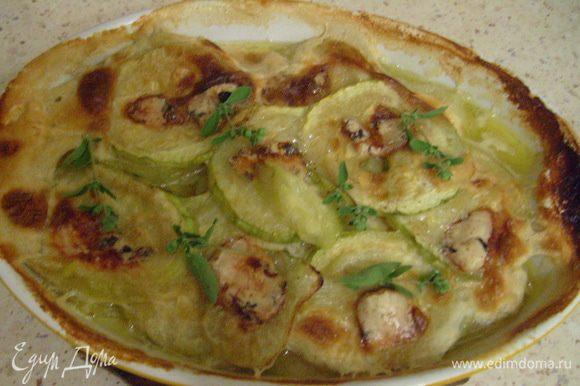 Запекать в разогретой духовке при 180°C 10-15 мин. Подавать к столу горячим. Приятного аппетита!