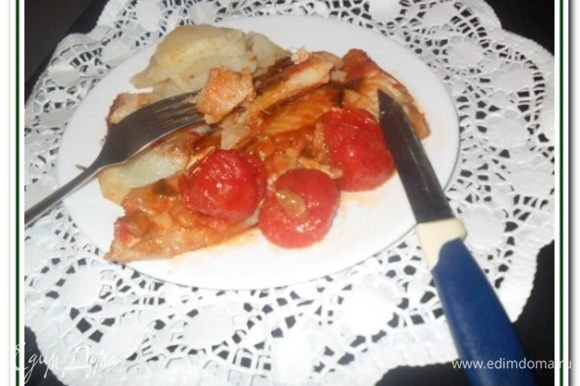 """""""Креветочная рыба (крнгрио) в кисло-сладком соусе с помидорами"""" Потрясающе вкусное блюдо. Нотки имбиря, соевого соуса, сладость и в тоже время кислинка придаю блюду неповторимое очарование. Очень понравилось всей моей семье и даже малыш ел с таким удовольствием"""