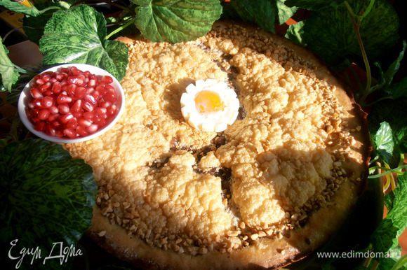 Украшаем цветочком из яйца (или несколькими)...