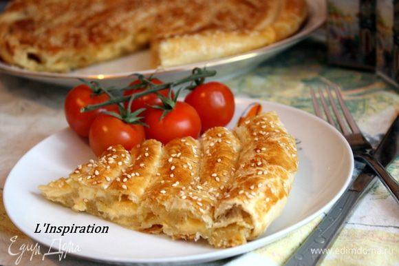 А также вкусный сырный пирог на моем блоге)))