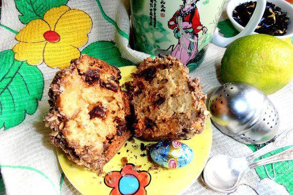 Присоединяйтесь к чаепитию,кто любит мягкие фруктовые кексы с хрустящей верхушечкой!!! Они очень вкусные и совсем не приторные!!!