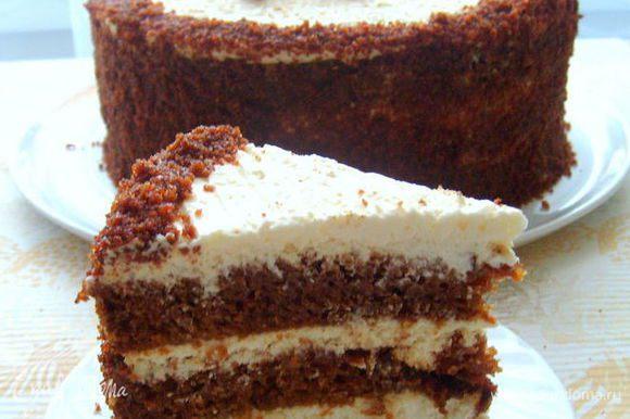А вот и замечательный торт от Евы. Этот торт обязательно нужно пробовать))