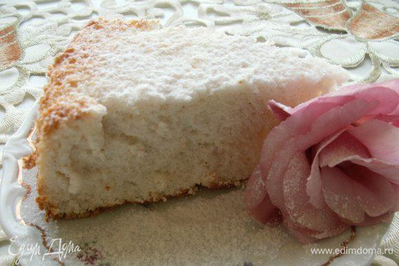 И нежнейший бисквит на белках от Elen@Lat http://www.edimdoma.ru/retsepty/55961-biskvit-na-belkah-pischa-angelov-s-yagodnym-sousom сегодня утром сделала в двойном объеме, а вечером только кусочек остался. Леночка, спасибо большое!!! Очень вкусно!