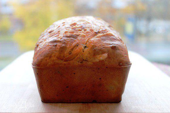Кекс достать из формы и охладить.