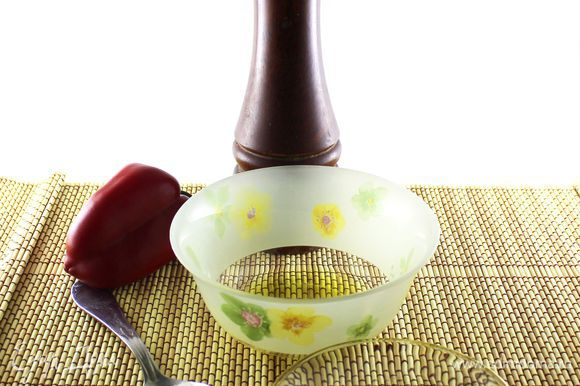 Подготовить ингредиенты для соуса.