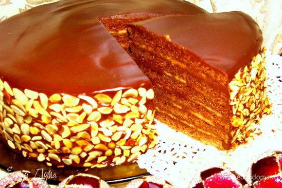 Такой торт не допустит и малейшего намека на депрессию! Кушайте и будьте счастливы!!!