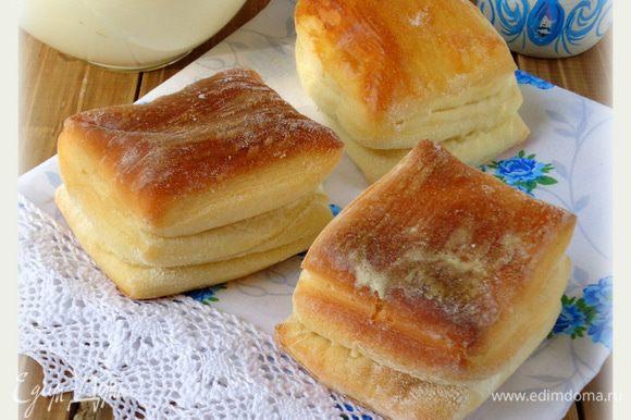Это булочки сделанные во второй раз.