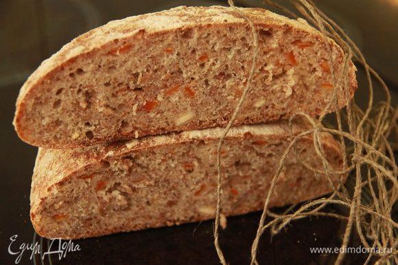 Хлеб в разрезе....