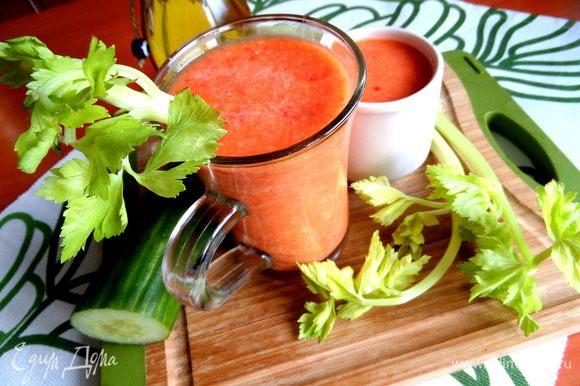 Прямо салат в бокале получился у меня)))) И опять же оранжевое настроение!!!!!