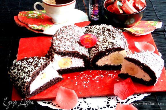 Надеюсь тортик получился не страшный))), а даже весёлый)))
