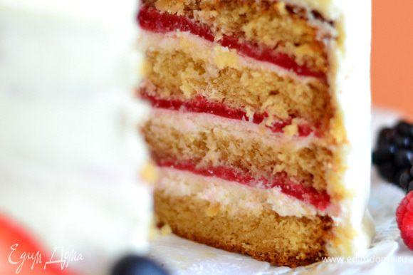 ПРИЯТНОГО!! Очень вкусный торт!