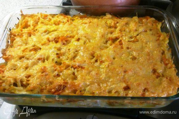 Достаём и наслаждаемся! Получается очень сочно и ароматно... картофель пропитывается ароматами кальмара....мммм )))