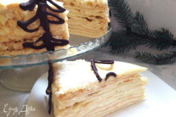 С таким тортом новогоднее настроение и вам, и вашим детям, и вашим гостям гарантировано! Приятного аппетита!