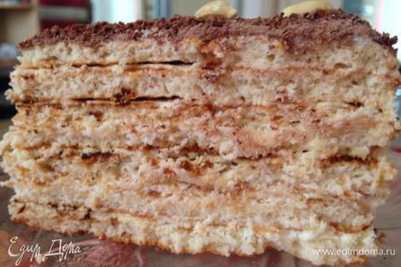 Утром торт станет мягким, с умопомрачительным ароматом свежести!