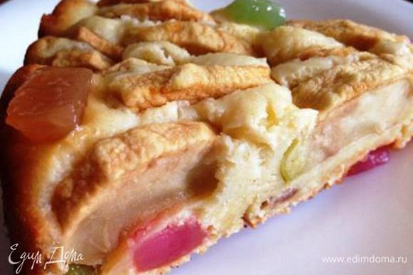 Дать пирогу остыть и можно вкушать!