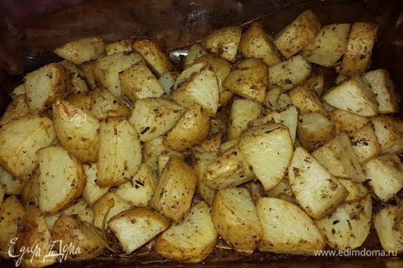Картошечка готова!