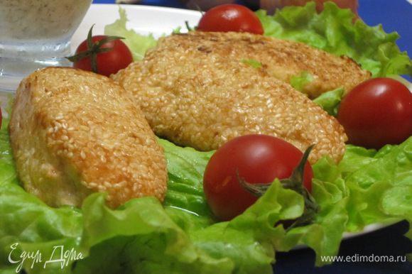 Приятного аппетита! На гарнир можно подать отварную пасту или картофельное пюре.