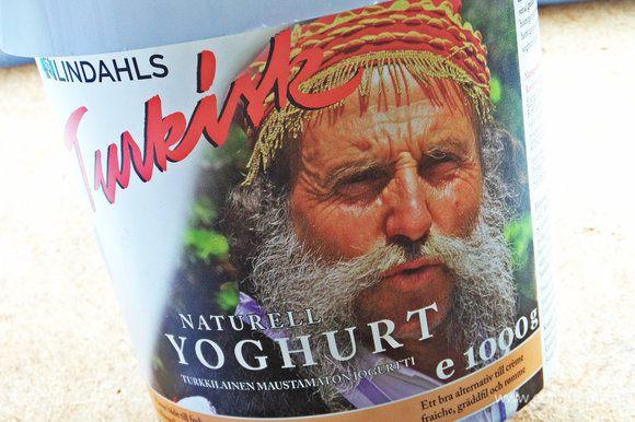 Для заправки я использовала турецкий (греческий) йогурт 10%.