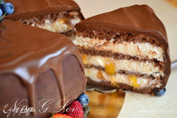 Все, тортик готов! Можно наслаждаться!)