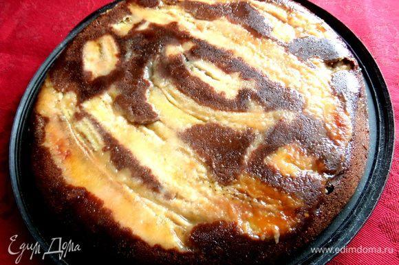 """Можно подать пирог в виде """"перевёртыша"""")))"""