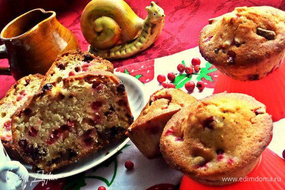 Маленькие кексы возможно будут съедены в ожидании крупного, но я сохранила, чтобы показать общее фото Вам :)