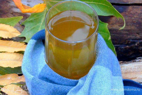 Разлить по чашкам и по вкусу добавить мед. Приятного и вкусного вам чаепития!!!
