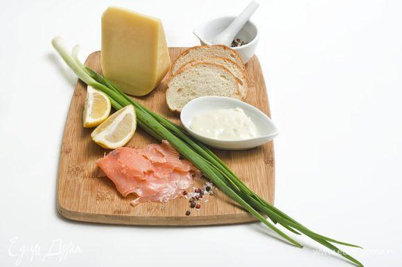 Для приготовления этого сэндвича вам понадобятся следующие ингредиенты.