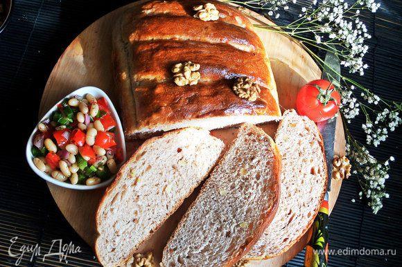 Берем на пикник ароматный хлебушек или угощаемся дома!