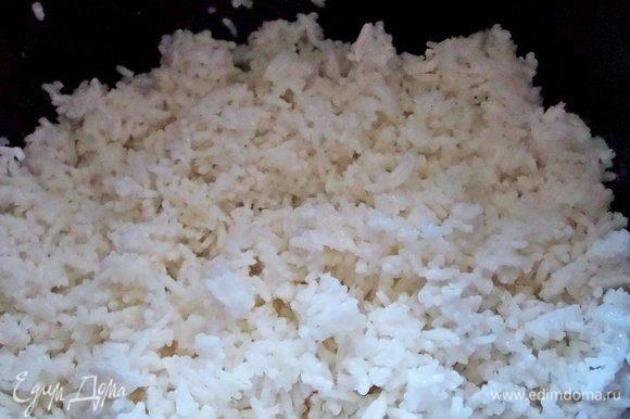 Ставим вариться рис.