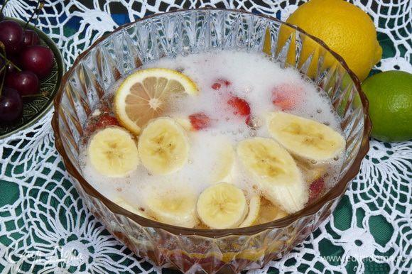 Прохладный освежающий ароматный напиток готов!