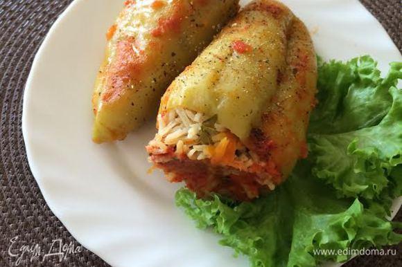 Охладить и подавать, особенно вкусно на следующий день. Приятного аппетита!
