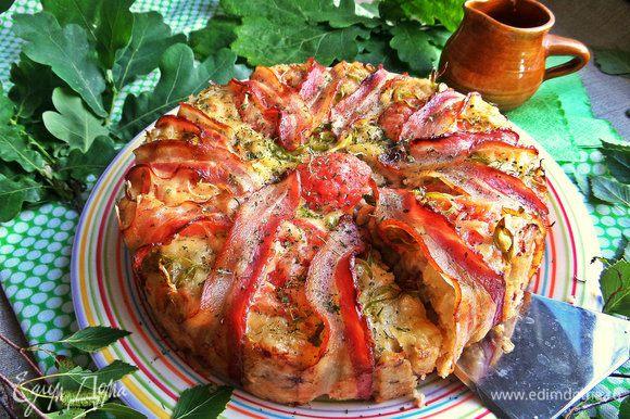 Блюдо не требует дополнительных украшений, разве что посыпать немного зеленью.