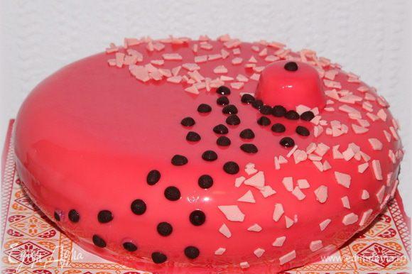 Вот такой торт получился у меня.