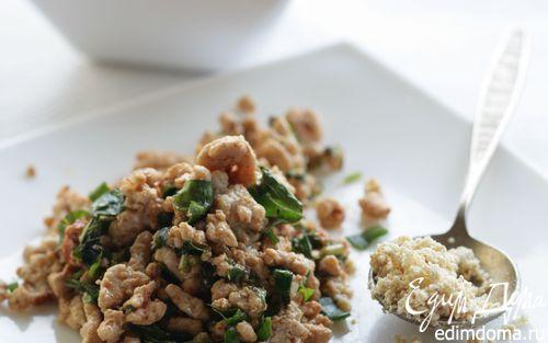 Рецепт Салат из пряной рубленой курицы