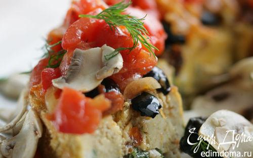Рецепт Рыбный пирог со шпинатом