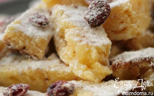 Рецепт Пирожное «Блондинка с клюквой»