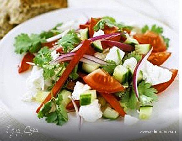 Салат «Хорьятики» с сыром фета
