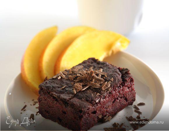 Шоколадный торт-мусс со свеклой