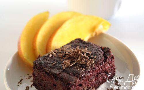 Рецепт Шоколадный торт-мусс со свеклой
