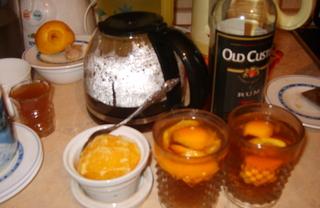 Рецепт Чай с ромом и апельсином (по рецепту Юлии Высоцкой