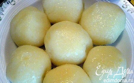 Рецепт Картофельный гарнир (Knödel)