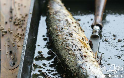 Рецепт Скумбрия в специях на гриле