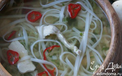 Рецепт Тайский куриный суп